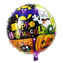 Spooky Halloween Foil Balloon Round Shape