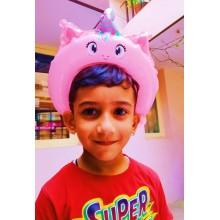 Pink Headband Foil Balloon - Unicorn (Set of 10)