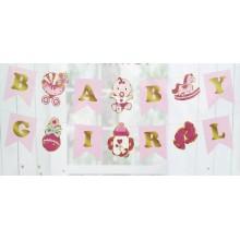 Baby Shower Girl Banner