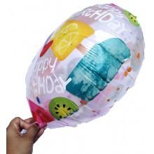 Birthday Foil Balloon - Candy Theme