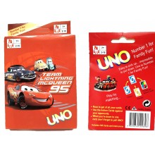 Cars UNO Cards