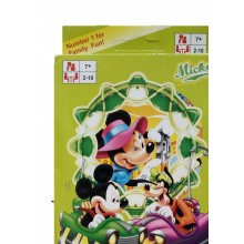 Mickey & Minnie UNO Cards