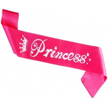 Princess Girl Sash