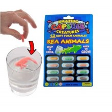Grow in water capsule - Sea Animals (Set of 10)