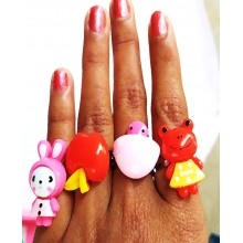 Cute finger ring (Set of 20)