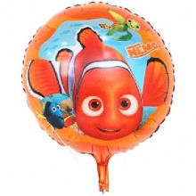 Nemo Fish Aquatic theme Birthday Foil Balloon