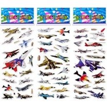 3D Stickers-Fighter Plane