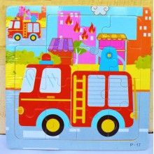 Wooden Jigsaw Puzzle- Vehicles (Set of 8)