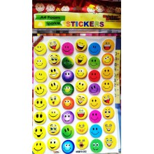 Sticker Bazar - Smiley Sticker Sheet (set of 10)