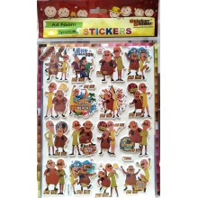 Sticker Bazar - Motu Patlu Sticker Sheet (Set of 10)
