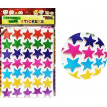 Sticker Bazar - Stars Sticker Sheet (Set of 10)