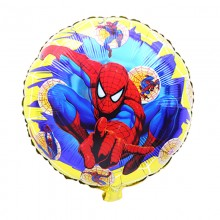 Spiderman theme Birthday Foil Balloon