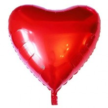 Romantic Heart shaped foil balloon