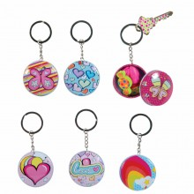 Colourful Keychain with Metalbox
