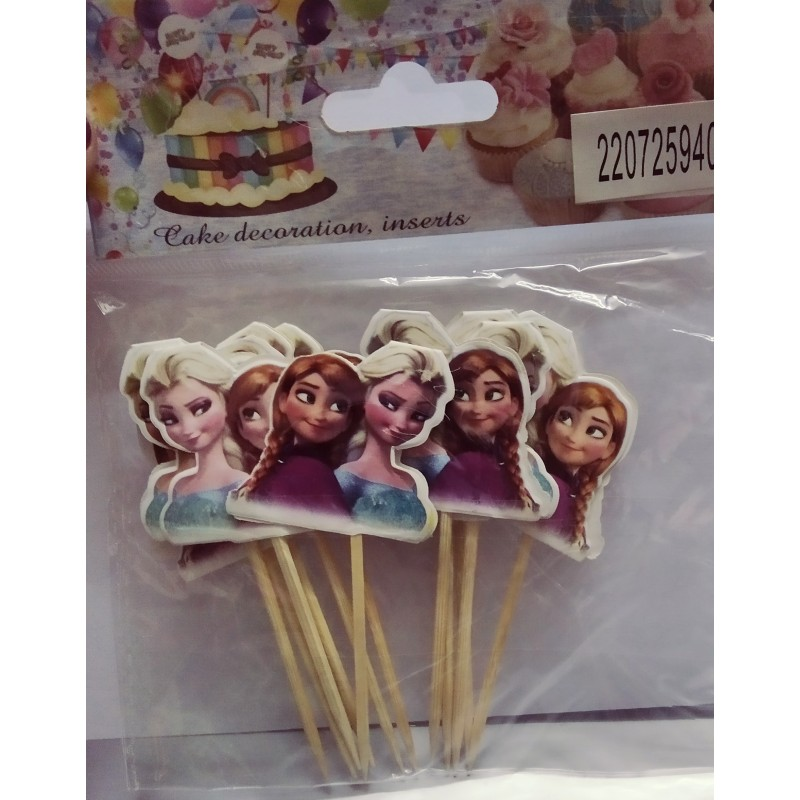 Astonishing Frozen Elsa Cake Topper Birthday Return Ts For Kids And Party Funny Birthday Cards Online Elaedamsfinfo