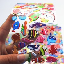 Aqua Theme Stickers