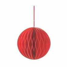Paper Flower Ball -Red