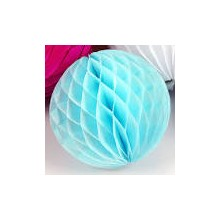 Paper Flower Ball -Light Blue