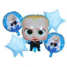 Boss Baby Foil Balloons (Set of 5)