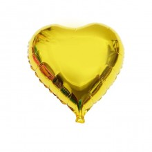 Golden Heart Foil Balloon