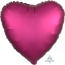 Pink Heart Foil Balloon