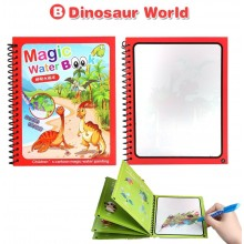 Magic Water Colouring Book - Dinosaur