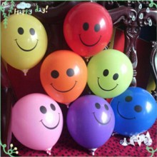 Smiley Colourful Balloon (Set of 25)