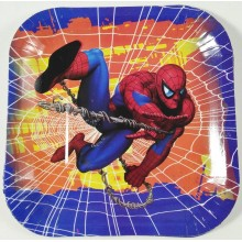 Paper Plate -Spiderman