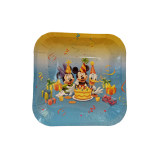 Paper Plate -Mickey & Minnie