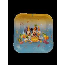 Paper Plate -Mickey & Minnie