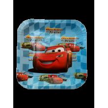 Paper Plate -Mcqueen Car
