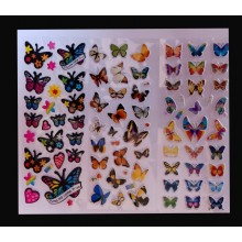 3D Stickers-Butterfly