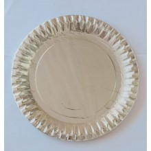 Paper Plates -Silver (Set of 10)