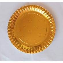 Paper Plates - Golden