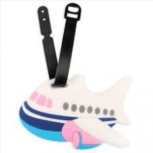 Airplane Luggage Tag (Set of 10)