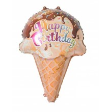 Ice Cream Foil Balloon  (Set of 2)