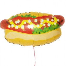 Hot dog Foil Balloon (Set of 2)