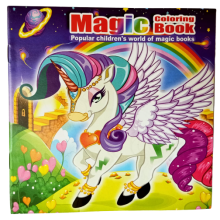 Unicorn Colouring and Moving Images Magic Book (Set of 10)