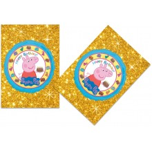 Peppa Pig Golden Banner