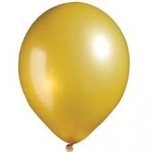 Golden Metallic Balloons 25 pieces