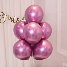 High Quality Glossy Chrome Balloon