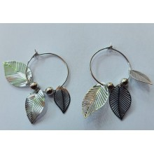 Fancy Earrings - Sliver