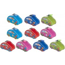 Metal Car Coin Bank (Set of 10)