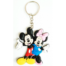 Mickey-Minnie Keychain