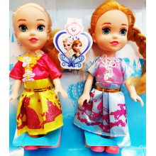 Elsa and Anna Sister Dolls