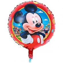 Mickey theme Birthday Foil Balloon