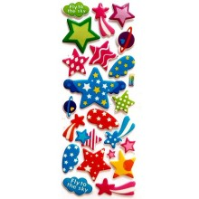 Star 3D Puffy Sticker