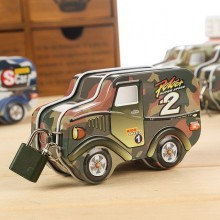 Metal Car Coin Bank
