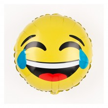 Smiley Emoji Foil Balloon - LOL