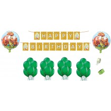 Dino Party Supply Combo (25 Pieces)